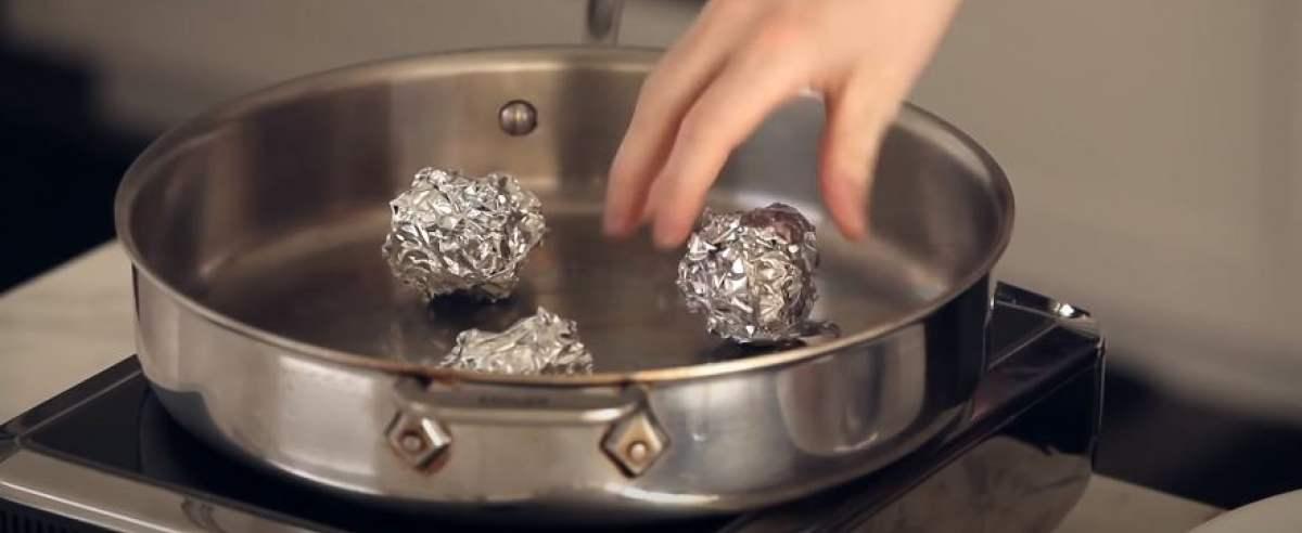 Folia aluminiowa ma sekretny sposób użycia