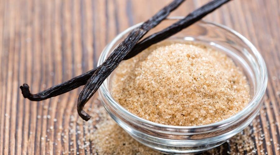 Brązowy cukier aromatyzowany wanilią
