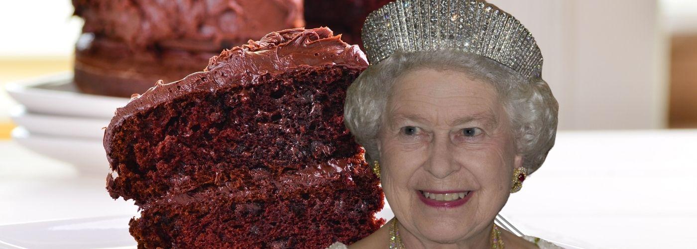 Królowa Elżbieta II uwielbia ciasto czekoladowe