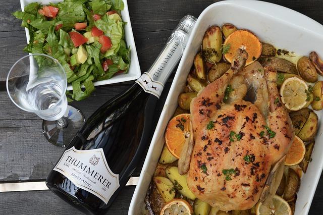 Coq au vin, czyli kurczak w winie