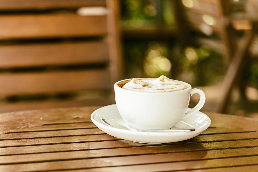 kawa w upały