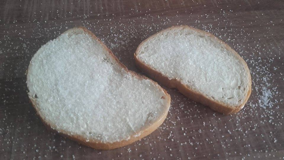 Chleb z cukrem