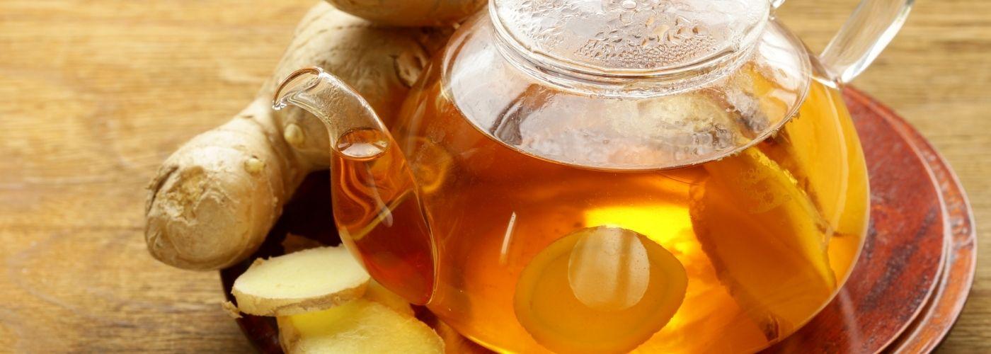 Imbir pod postacią herbatki poprawi twoje zdrowie