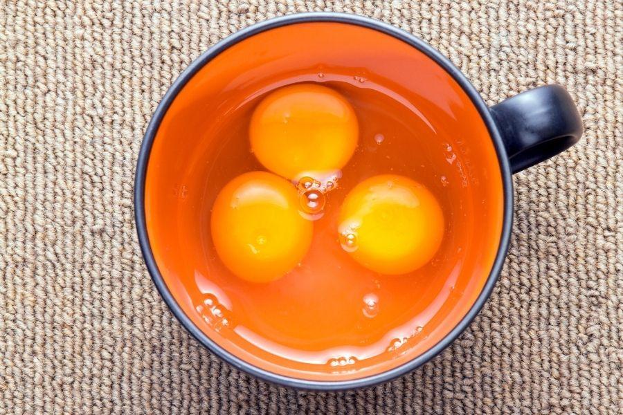 czy można pić jajka
