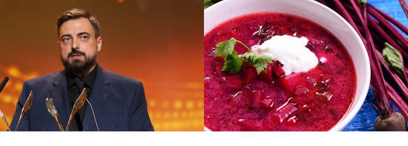 Buraczana zupa Sekielskiego