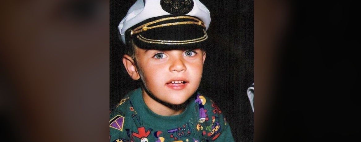 Młody Damian Kordas