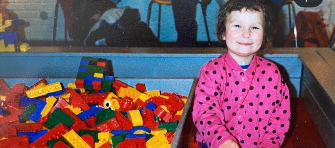 Ania Starmach w dzieciństwie
