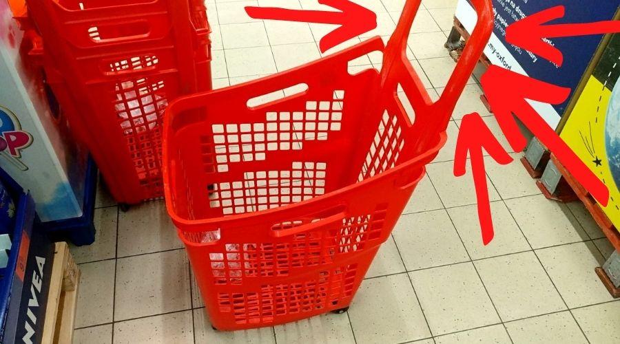 Zakupy w sklepie Biedronka