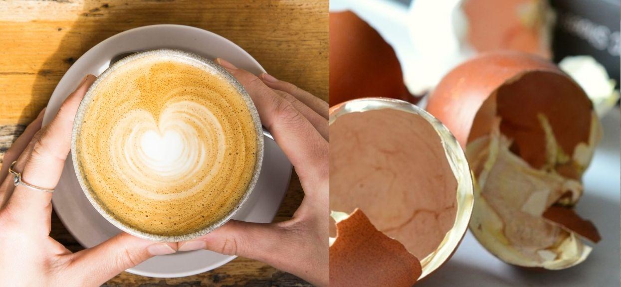 Kawa ze skorupkami  z jajek - brzmi dziwnie, ale jak smakuje