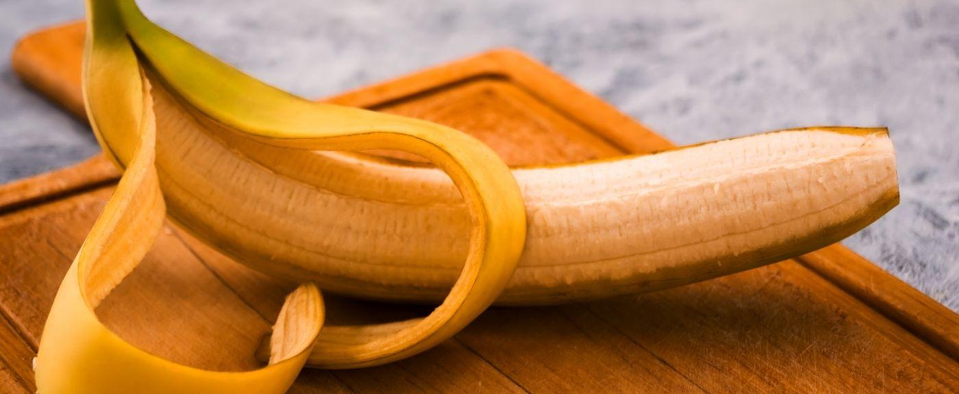 Czy można jadać skórkę banana?