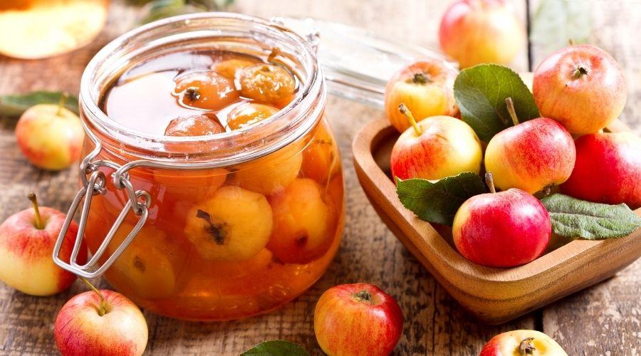 Słowiański przysmak, czyli kiszone jabłka