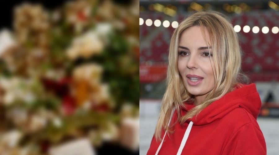 Agnieszka Włodarczyk i jedzenie w szpitalu