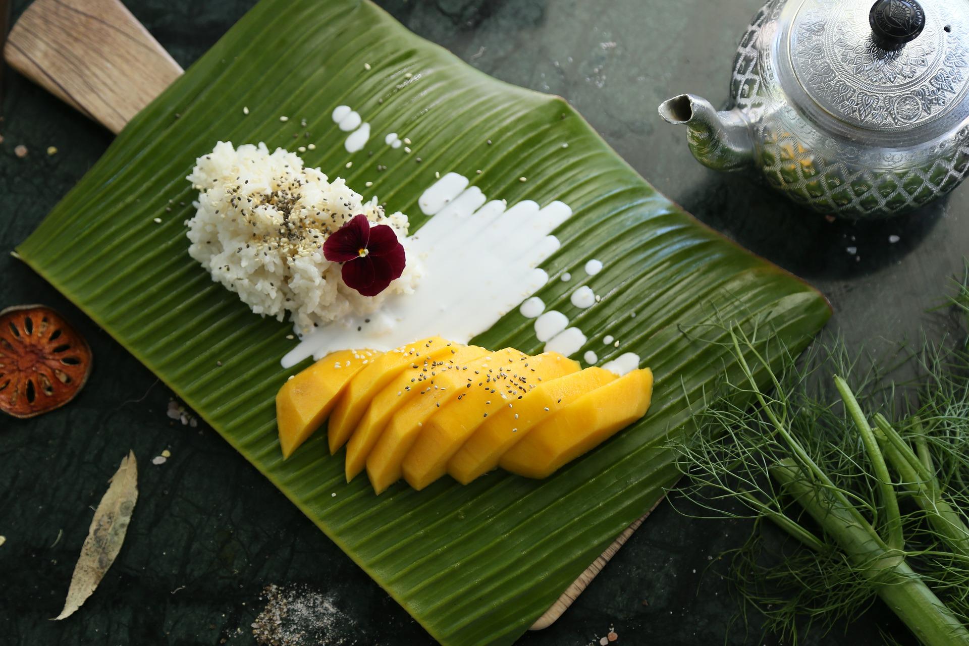 Mango sticky rice – tajski ryżowy deser