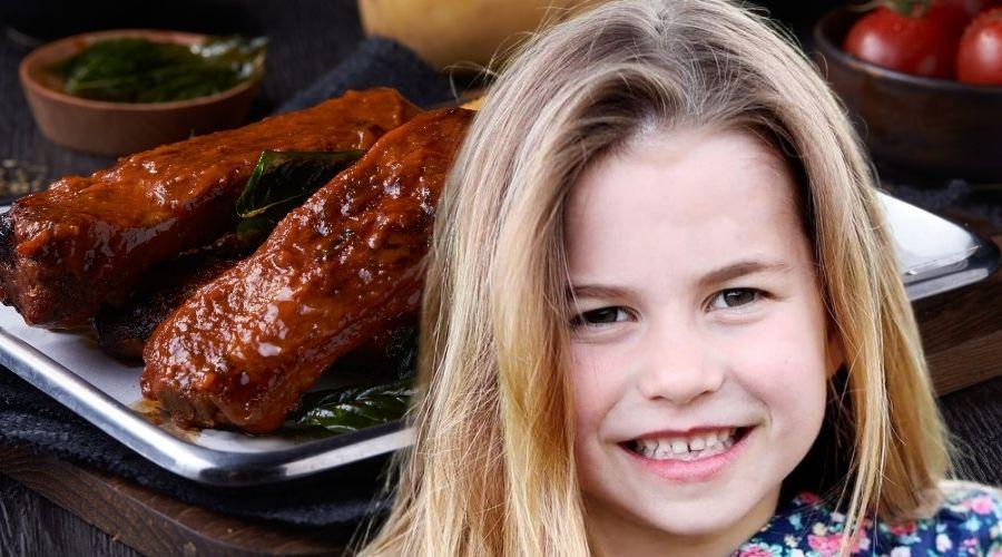Księżniczka Charlotte zdradziła co lubi jadać