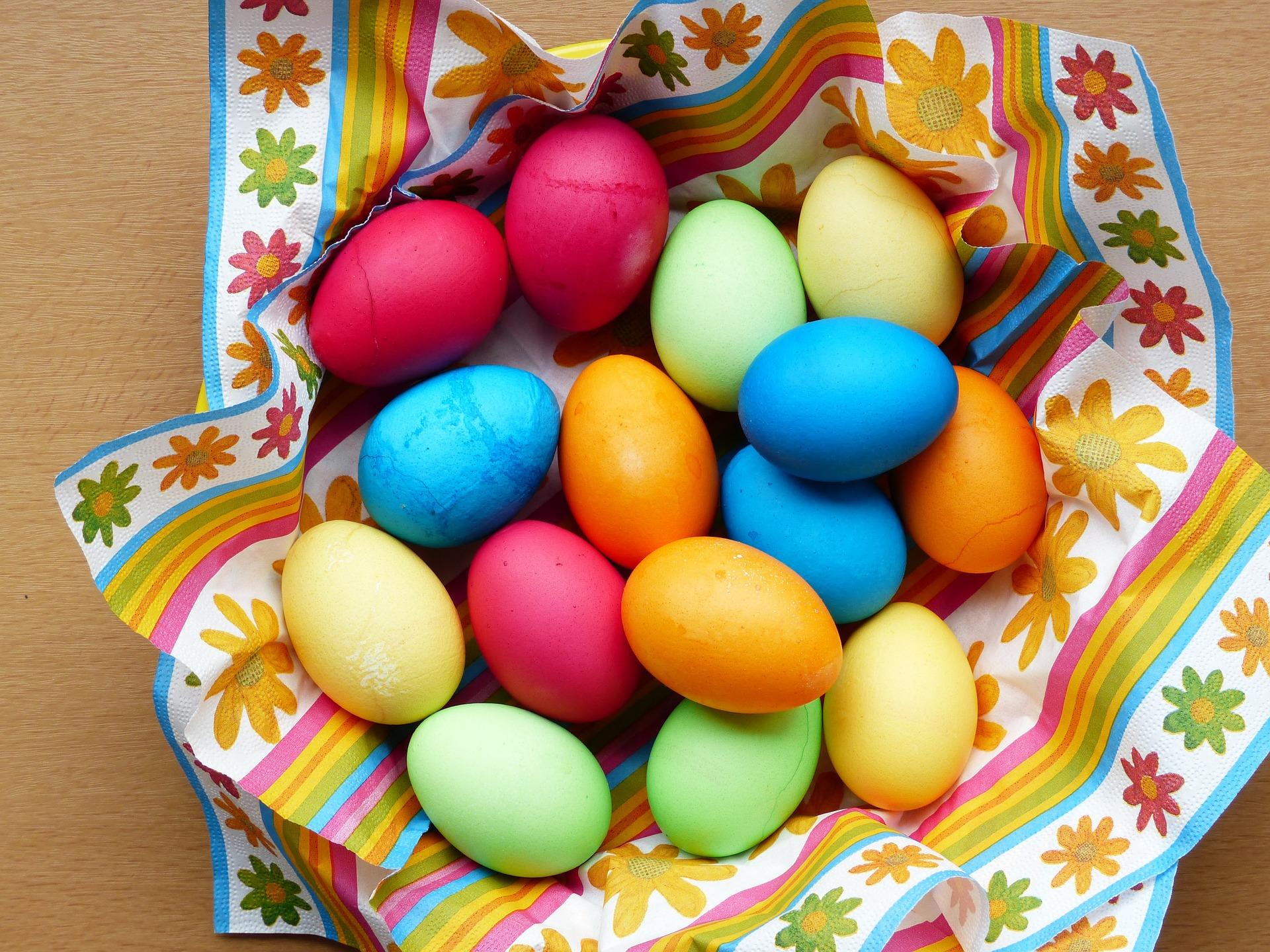 Jak barwić jajka?