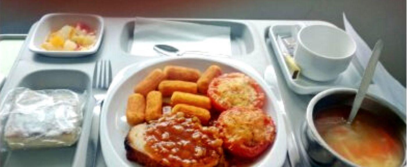 Jedzenie w szpitalu może wywołać nie lada konsternację