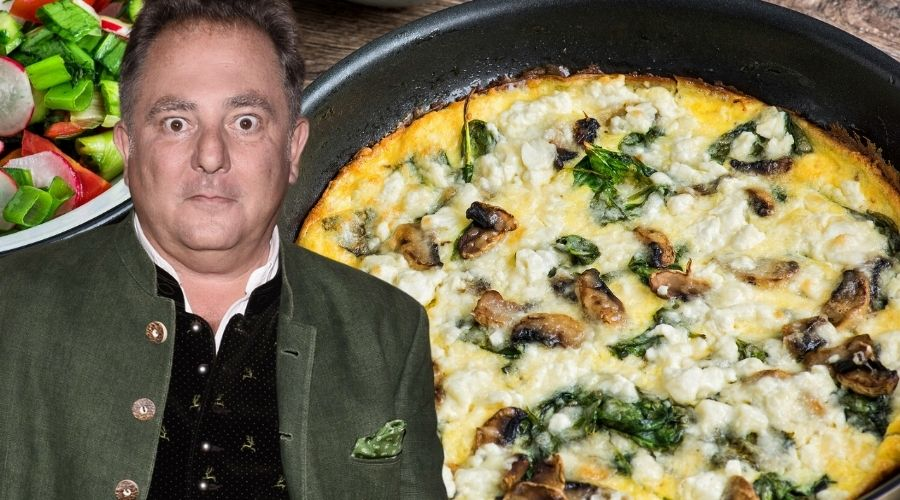 Robert Makłowicz wie czym jest dobry omlet