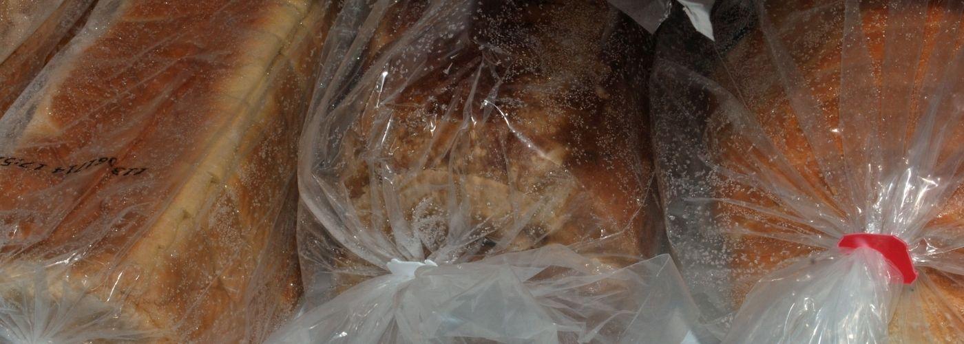 Zamrożony chleb