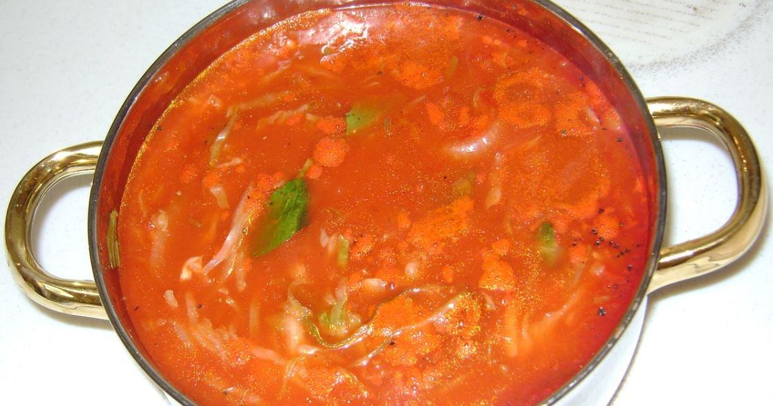 Zupa pomidorowa smakuje obłędnie