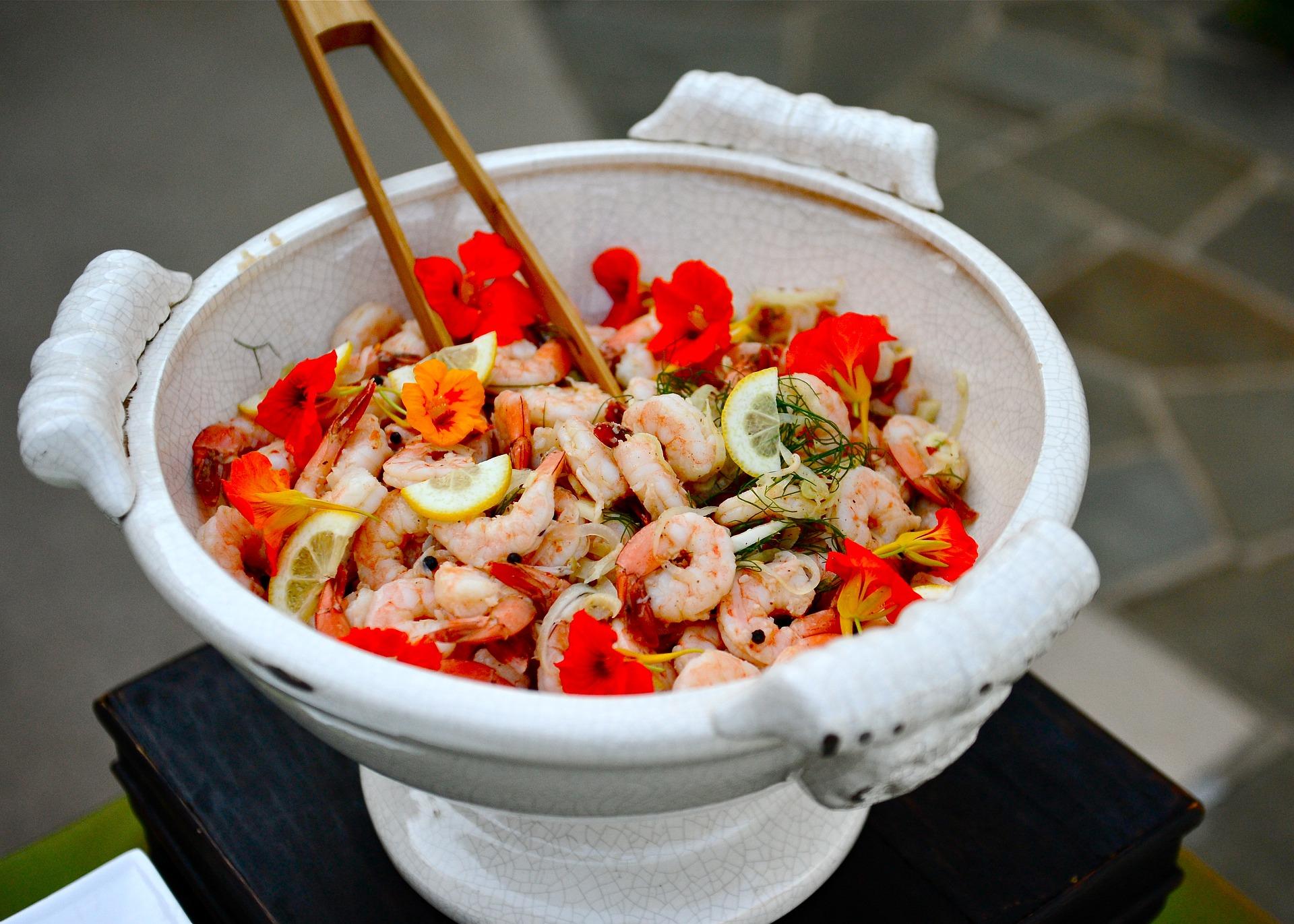 Krewetki z warzywami po chińsku – oryginalna przystawka lub obiad