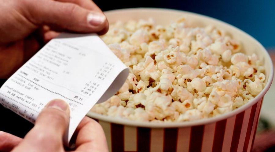 Popcorn w kinie kosztował małą fortunę