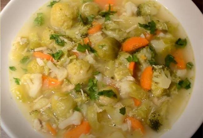 Przepyszna zupa jarzynowa