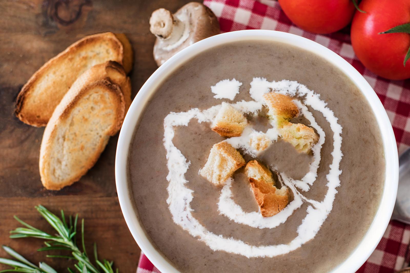 Zupa grzybowa krem