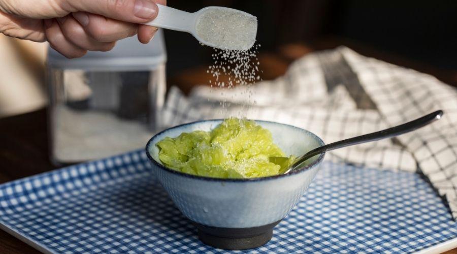 ogórki z cukrem