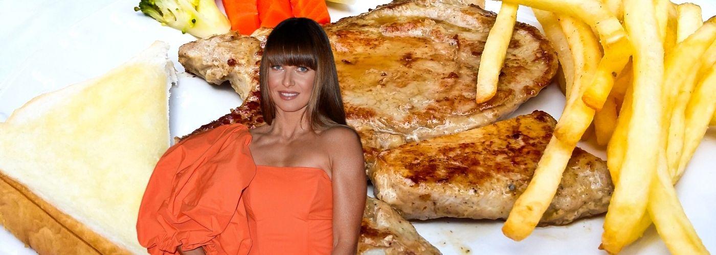 Anna Lewandowska zachęca do zrezygnowania z fast foodów