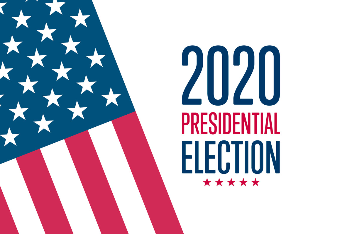 2020 United States Presidential Election concept