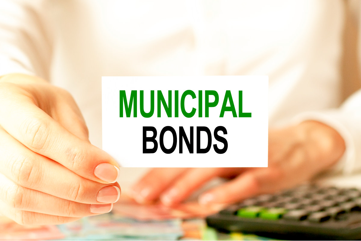 a card with the text MUNICIPAL BONDS