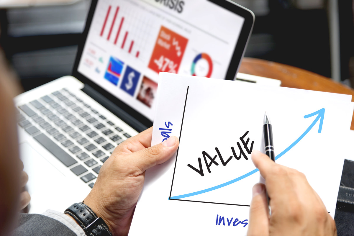 value investing concept