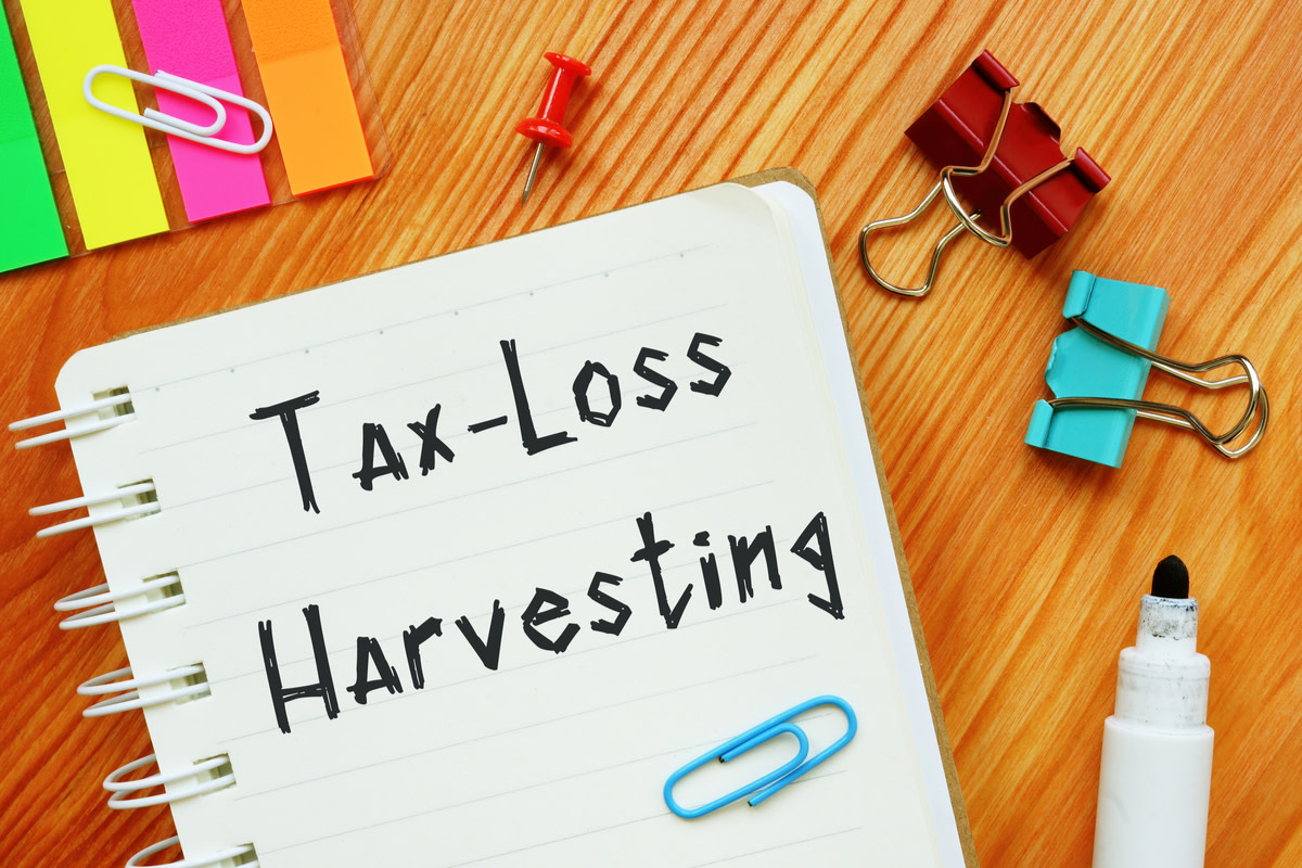 Tax-Loss Harvesting with handwritten text