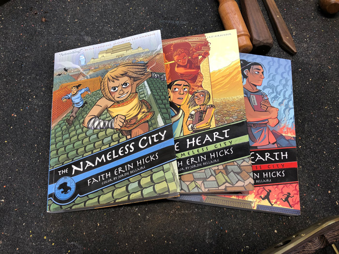 Nameless City graphic novels