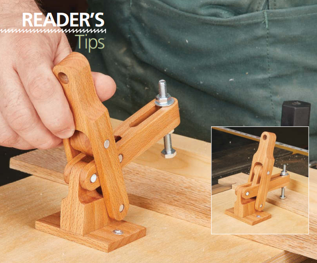 Shop-Made Toggle Clamp