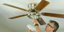 A Step by Step Guide to Install Ceiling Fan