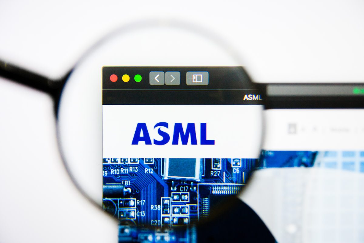 ASML Holding website homepage