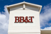 BB&T Logo on a Building