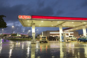 An Exxon retail location in the U.S.