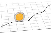 Coin Rolling Up a Graph