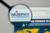 Murphy Oil logo on the website homepage