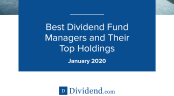 Best Dividend Fund Managers - Jan 2020
