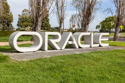 Oracle Headquarters Sign