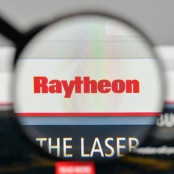 Raytheon Logo on website