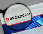 Broadcom logo on website