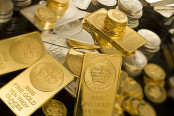 Piles of Gold Bullion