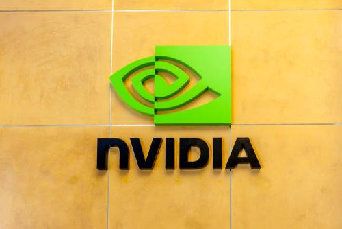 NVIDIA Logo on Wall