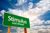 Concept of upcoming government stimulus package