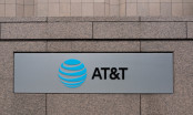 At&T Logo on a wall
