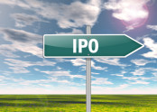 IPO on a Street Sign